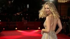Jennifer Lawrence, en el estreno de 'Gorrión rojo' en Londres en 2018.JOEL C RYAN / AP
