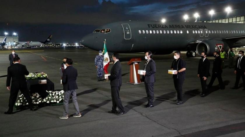 México repatria cenizas de conciudadanos fallecidos por Covid-19 en Estados Unidos(EFE)