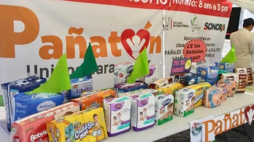 El pasado 10 de agosto iniciaron el Pañatón en Ciudad Obregón.(Susana A. Arana)