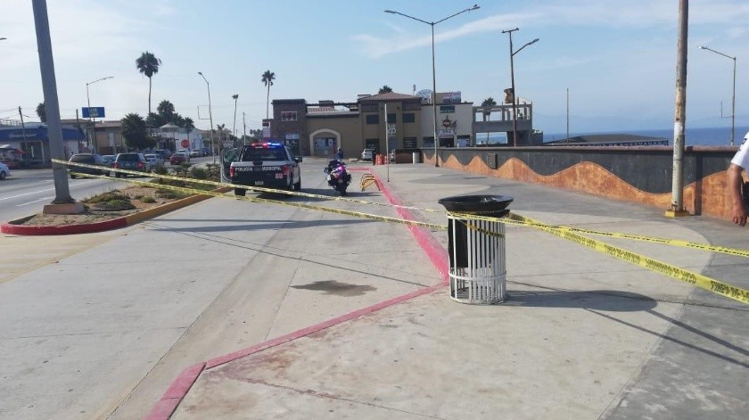 Durante el fin de semana, agentes policiales continuaron realizando recorridos con perifoneo.(Jayme García)