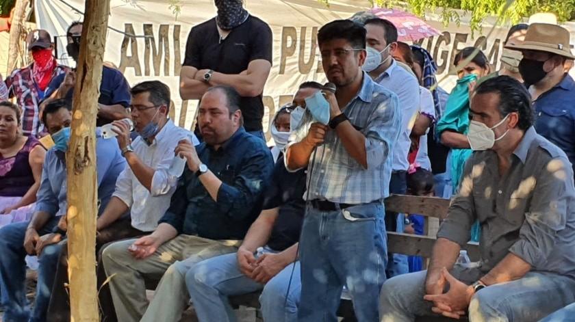 Estarán autoridades federales en mesa de diálogo por varios días con los Yaquis(Especial)