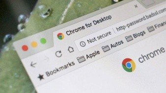 Google Chrome protegerá a los usuarios de formularios inseguros
