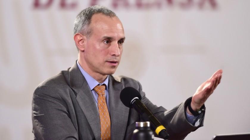 "Gatell: Bloomberg no financió mi doctorado ni etiquetado en alimentos ""chatarra""(Twitter @HLGatell)"