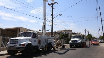 Piden a Mexicalenses reducir consumo de energía por apagones
