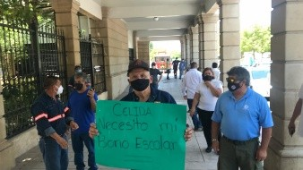 Se manifiesta Sindicato de Trabajadores del Ayuntamiento de Hermosillo