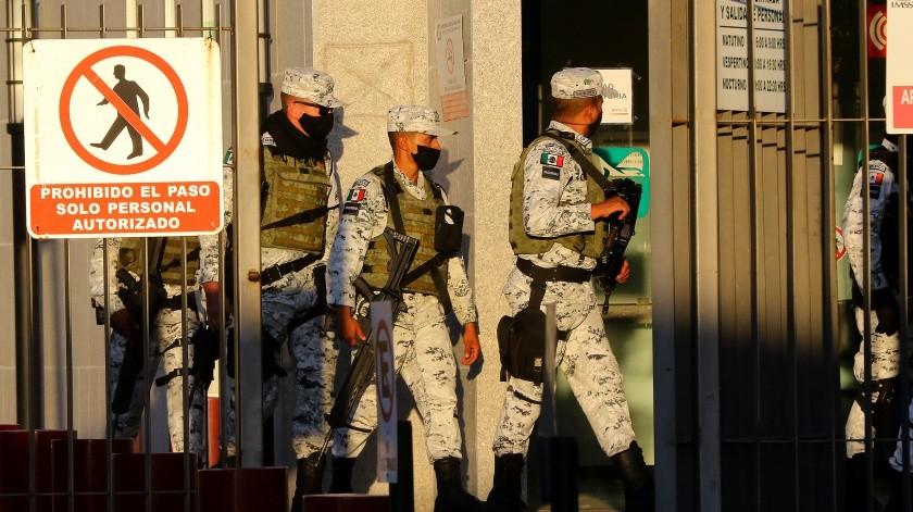 Funcionario del Ayuntamiento de Caborca involucrado en incidente con Guardia Nacional(GH)