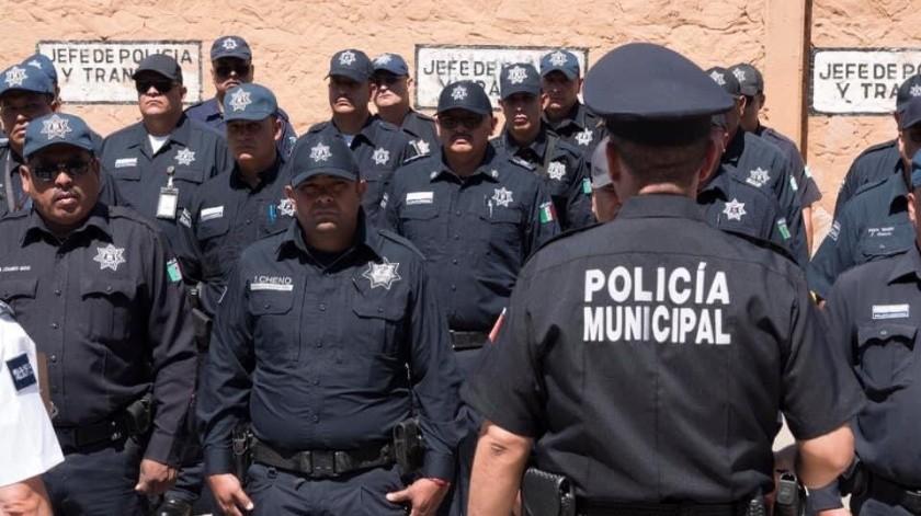 Homologan salarios a policías en Agua Prieta(Especial)