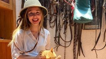 Camila Sodi en retrato familiar