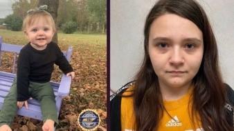 Los restos de la hija de Boswell, Evelyn Mae Boswell, de 15 meses, fueron encontrados hace cinco meses dentro de un cobertizo propiedad de su abuelo.