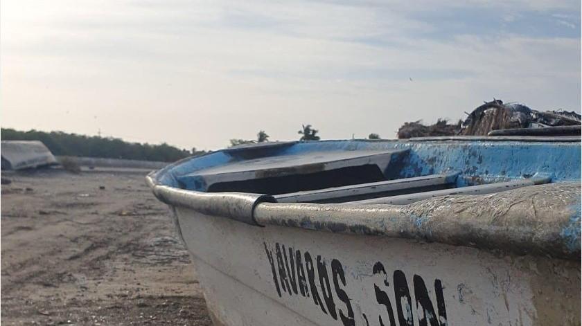 El Capitán del Puerto de Yavaros indicó aunque el fenómeno se degradó hay vientos fuertes.(Especial)