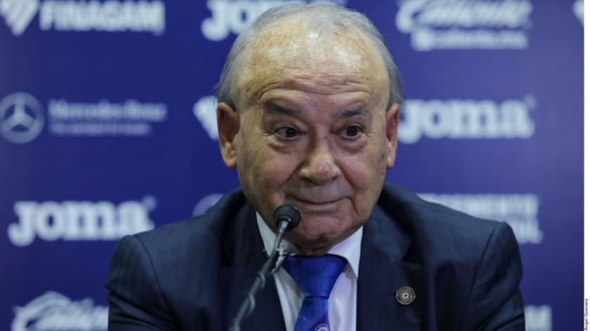 Femexfut continúa tomando en cuenta a Billy Álvarez como líder de Cruz Azul