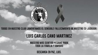 Xolos de Hermosillo manda sus condolencias tras la muerte de su jugador Luis Carlos Cano