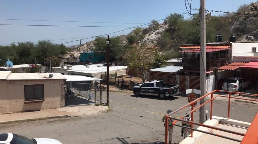 Sujetos armados asesinan con arma de fuego a joven en la colonia La Matanza