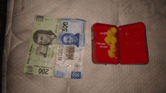 Arresta FGE a un hombre y decomisa dosis de droga durante cateo