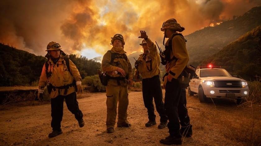 Reportan un muerto y cuatro desaparecidos en uno de los mayores incendios de California(EFE)