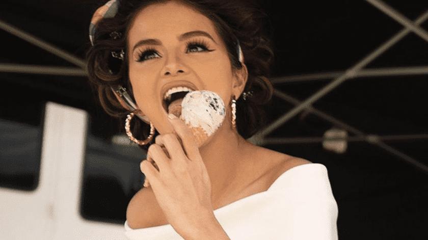 Selena Gomez estrenará línea de helados.(Instagram/Selena Gomez.)