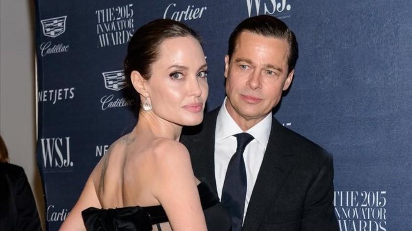 Pitt trata de evitar que Jolie se lleve a sus hijos a Londres((Tomada de la red))