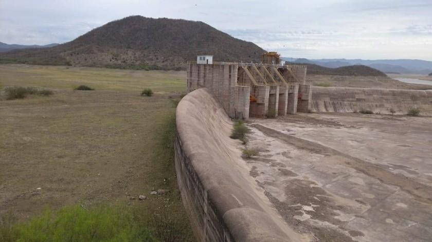 Registra presa Mocuzarit un 91% más de almacenamiento que el año pasado(Ilustrativa/Especial)