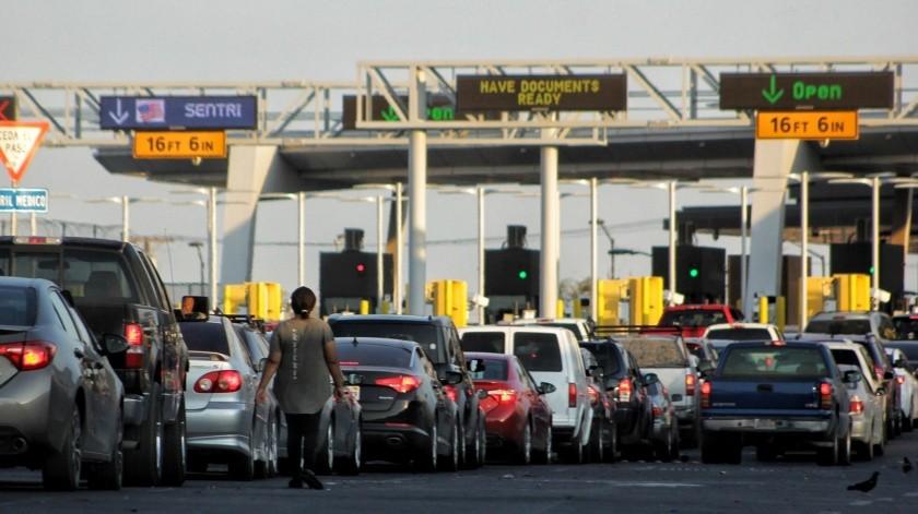Habrá solo dos carriles para cruzar a Calexico; alcaldesa(Daniel Resendiz)