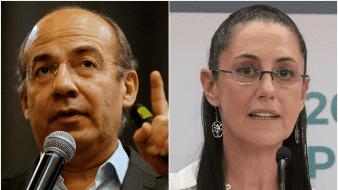 El problema no es el águila de Juárez, sino el emblema de Morena: responde Calderón a Sheinbaum