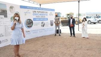 Generará nuevos empleos inversión de ATS/Creation en Sonora: Gobernadora