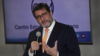 En la imagen, el jefe de misión de la Organización Internacional para las Migraciones (OIM) para El Salvador, Guatemala y Honduras, Jorge Peraza.