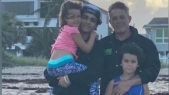 Tras medio año de no poder ver a sus hijos, finalmente Alejandro Sanz pudo hacerlo.