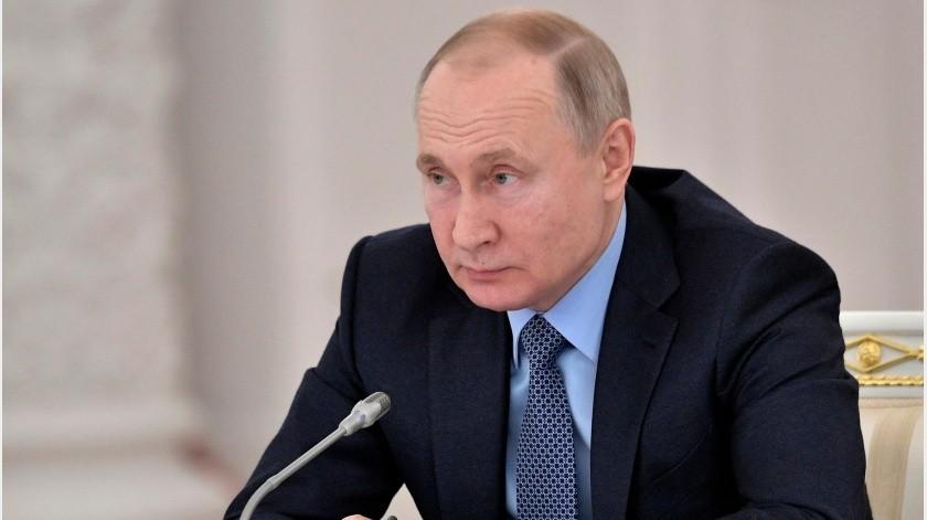 """Yo le dije que Rusia cumplirá con sus obligaciones"""", aseguró Putin en una entrevista con la televisión pública.(Archivo GH)"""