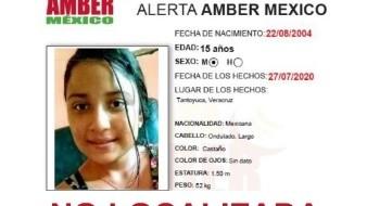 Guadalupe Guerra Cruz fue vista por última vez el pasado 27 de julio, en el municipio de Tantoyuca, Veracruz y hasta el momento no se sabe nada de su paradero,