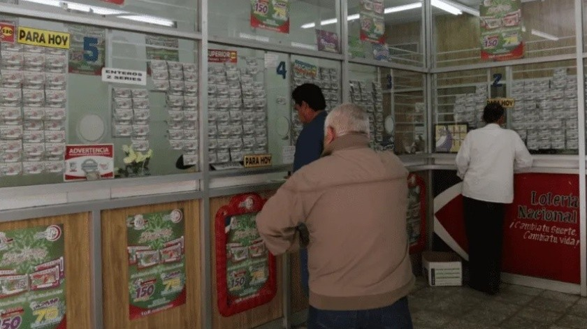 Cae en Huatabampo premio mayor de Lotería Nacional(GH)