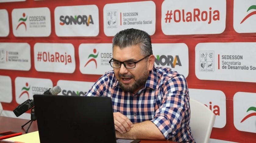 Gabriel Tapia Montiel llegó a la dirección de la Codeson en lugar de Genaro Enríquez.(Cortesía)