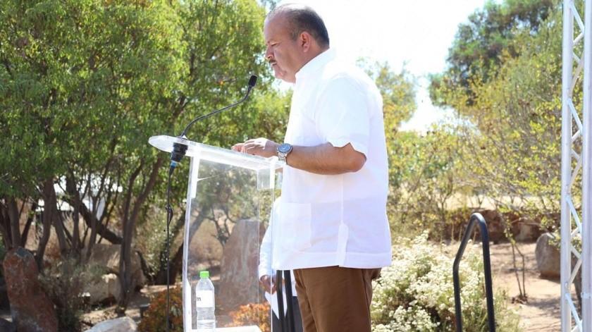 Marco Estudillo Bernal, representante del grupo Emprendedores del Valle de Guadalupe (EVG).