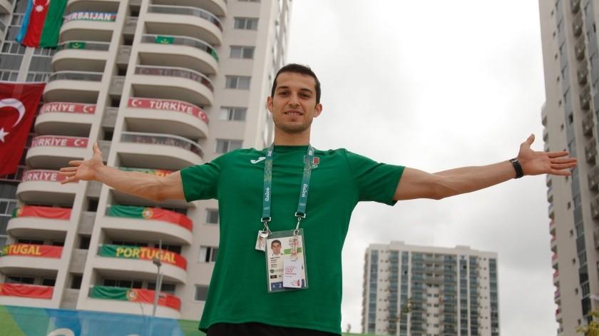 Édgar Rivera ya estuvo en los Juegos Olímpicos de Río 2016.(Cortesía)