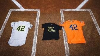 Astros y Atléticos conmemoran el día de Jackie Robinson y no disputaron partido
