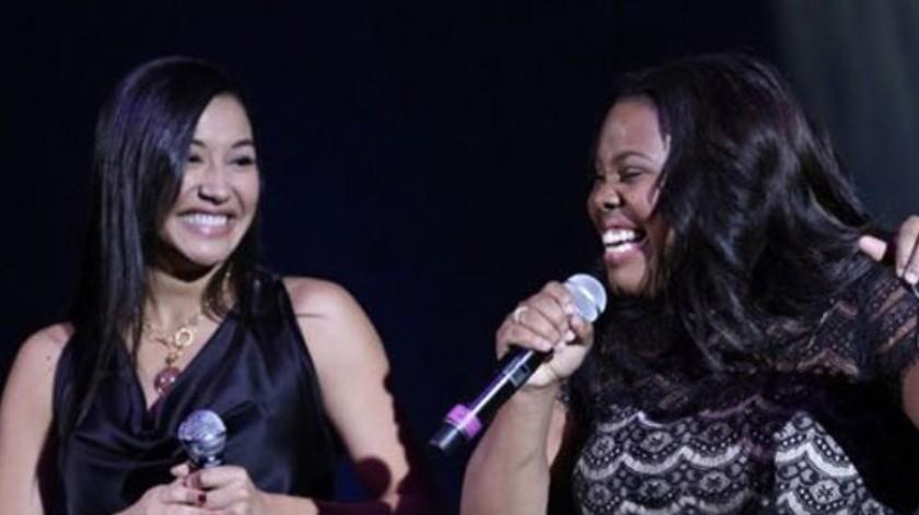 El vínculo emocional que Naya Rivera y Amber Riley compartían era muy grande.(Cortesía Twitter)