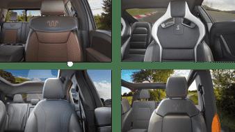 Ford ofrece fondos de pantalla de sus modelos automotrices para videollamadas.