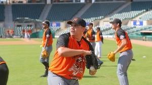 Juan Pablo Oramas es uno de los peloteros que estarán con los Naranjeros.