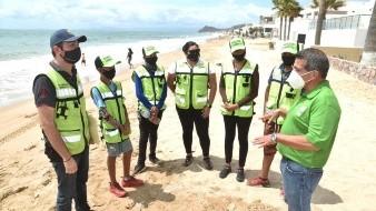 Multarán a personas y comercios que arrojen residuos en playas de Bahía de Kino