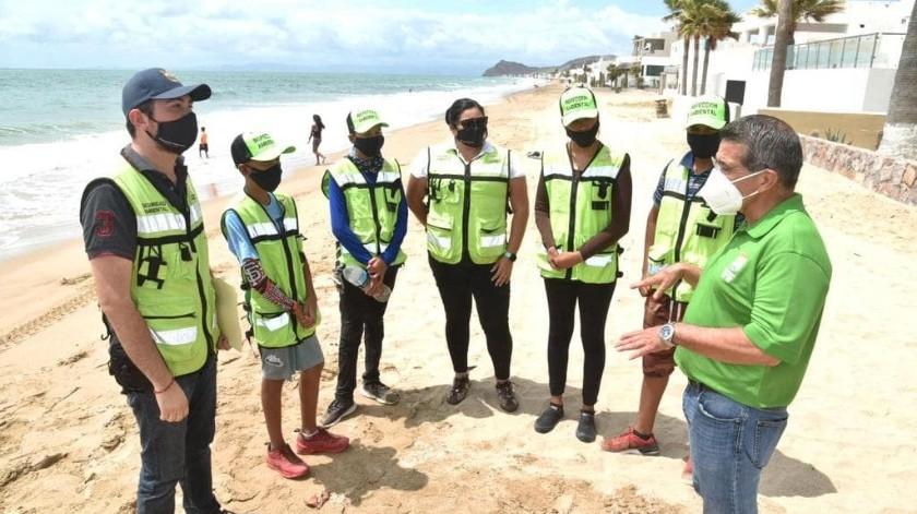 Multarán a personas y comercios que arrojen residuos en playas de Bahía de Kino(Especial)