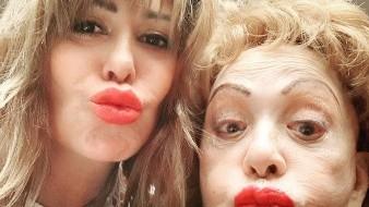 Reaparece Silvia Pinal con Alejandra Guzmán y sin maquillaje