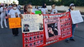 ¿Dónde están? Nuestros hijos ¿Dónde están?: Familiares de desaparecidos marchan en Cajeme