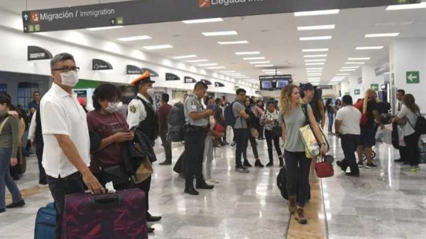 Almost 60% of the arrival of foreign tourists to Mexico falls due to a pandemic (EFE)
