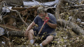 Residentes de Luisiana evalúan daños del huracán Laura; suman 18 muertes
