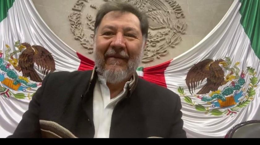 Falso, que PRI logre tercera mayoría en San Lázaro: Fernández Noroña(Twitter @fernandeznorona)