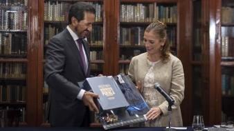 Gutiérrez Müller atestigua convenio con la BUAP en medio de conflicto entre Rector y Miguel Barbosa