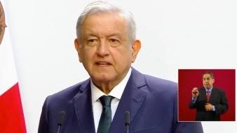 El Presidente de la República Andrés Manuel López Obrador en su Segundo Informe de Gobierno.