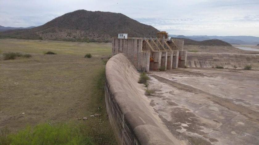 Las puertas de la presa Adolfo Ruiz Cortines (Mocuzari) se abrieron esta mañana(Archivo GH)