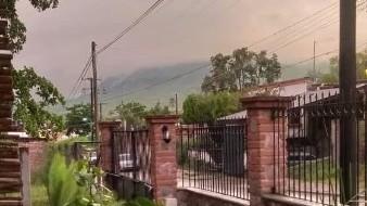 El jefe de la Unidad Municipal de Protección Civil (UMPC) de Álamos dijo que desde las 7:00 horas de hoy y hasta el momento siguen las precipitaciones.