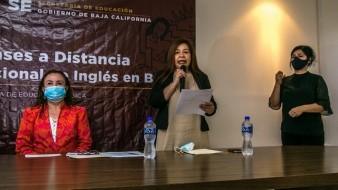 El Programa Nacional de Inglés inició en Baja California en el 2002, y en este 2020 las clases serán de manera virtual, a través de los canales de televisión abierta e incluso con cuadernillos, para aquellos que no cuentan con el alcance de las tecnologías, explicó Beatriz Cossio García, coordinadora de PRONI en Baja California.