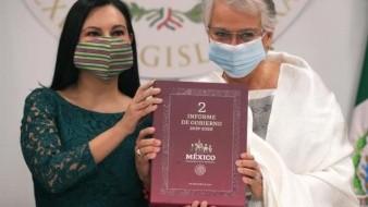 VIDEO | Congreso recibe Informe de Gobierno de AMLO; Sánchez Cordero lo entrega